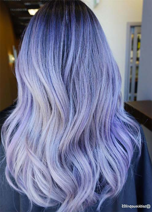 50 Lovely Purple & Lavender Hair Colors – Purple Hair Dyeing Tips With Regard To Lavender Hairstyles For Women Over (View 14 of 25)