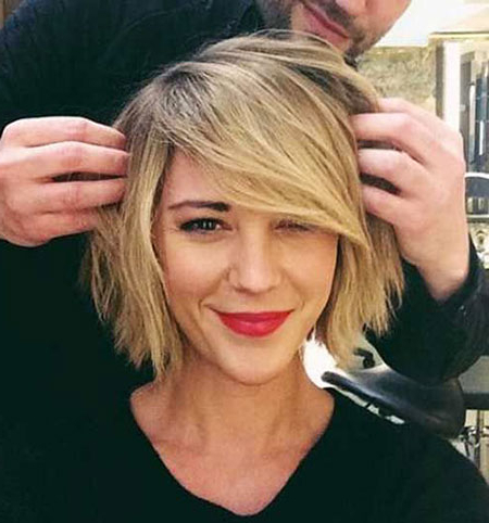 50 New Short Blonde Bob Hairstyles 2016 – 2017 – Blonde Hairstyles 2017 Throughout Blonde Bob Hairstyles With Bangs (View 22 of 25)