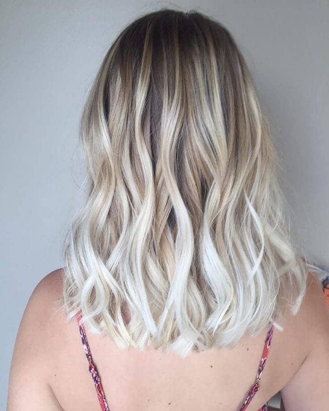 50 Platinum Blonde Hairstyle Ideas For A Glamorous 2018 For Gray Hairstyles With High Layers (View 18 of 25)