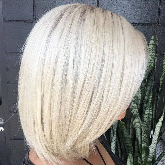 50 Platinum Blonde Hairstyle Ideas For A Glamorous 2018 Throughout Layered Platinum Bob Hairstyles (View 20 of 25)