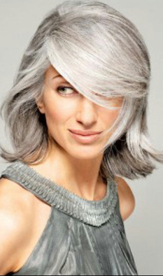 50 Short And Stylish Hairstyles For Women Over 50 In Salt And Pepper Voluminous Haircuts (View 6 of 25)