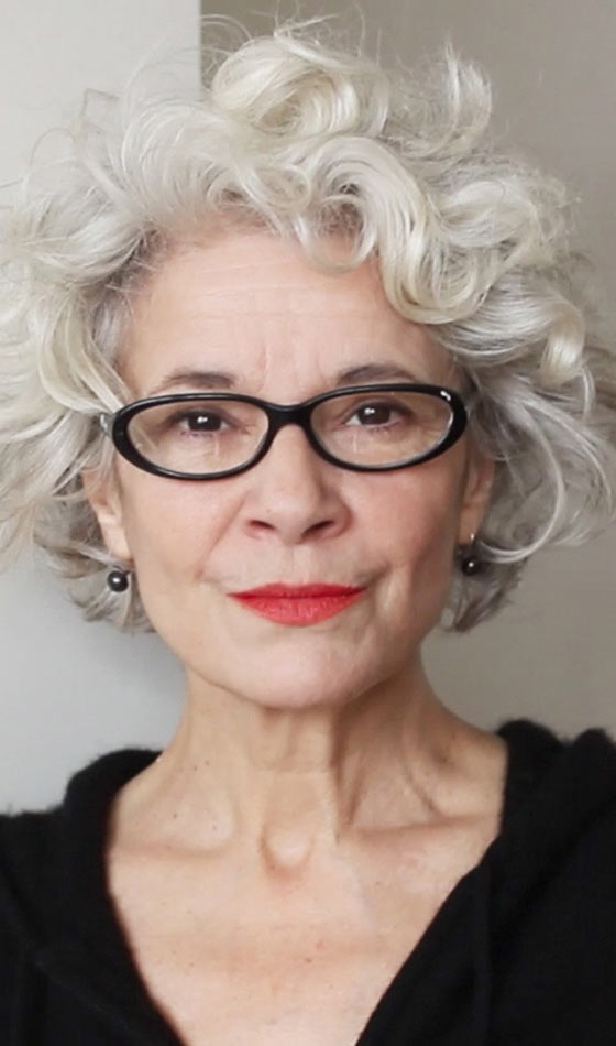 50 Short And Stylish Hairstyles For Women Over 50 Pertaining To Wispy Silver Bob Hairstyles (View 13 of 25)