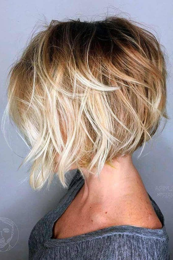 50 Stunning Bob Hairstyle Inspirations That Will Give You A Glammed In Short Wavy Inverted Bob Hairstyles (View 12 of 25)