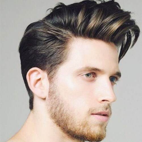 50 Tasteful Quiff Haircut Ideas – Men Hairstyles World Intended For Oluminous Classic Haircuts (View 17 of 25)
