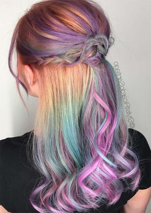 51 Medium Hairstyles & Shoulder Length Haircuts For Women In 2019 Inside Lavender Hairstyles For Women Over (View 24 of 25)