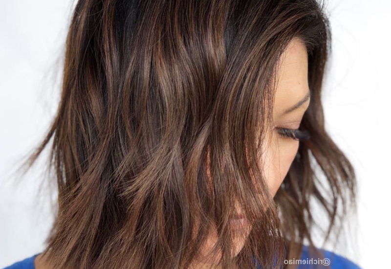 51 Stunning Medium Layered Haircuts (Updated For 2018) Intended For Chic Chocolate Layers Hairstyles (View 15 of 25)