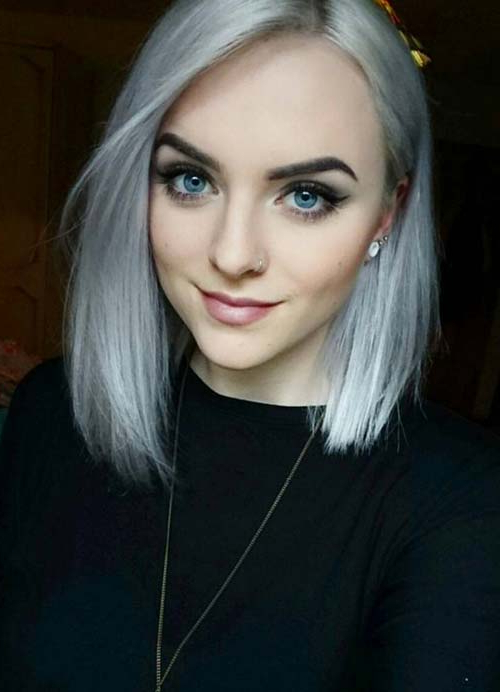 55 Short Hairstyles For Women With Thin Hair | Fashionisers Intended For Silver Pixie Hairstyles For Fine Hair (View 13 of 25)