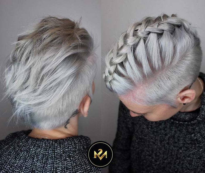 55 Short Hairstyles For Women With Thin Hair | Fashionisers Within Silver Pixie Hairstyles For Fine Hair (View 15 of 25)