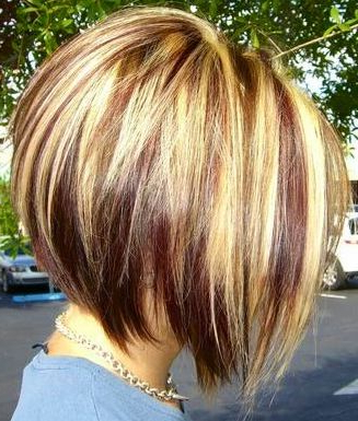 55 Super Hot Short Hairstyles 2017 – Layers, Cool Colors, Curls For Messy Pixie Hairstyles With Chunky Highlights (View 7 of 25)