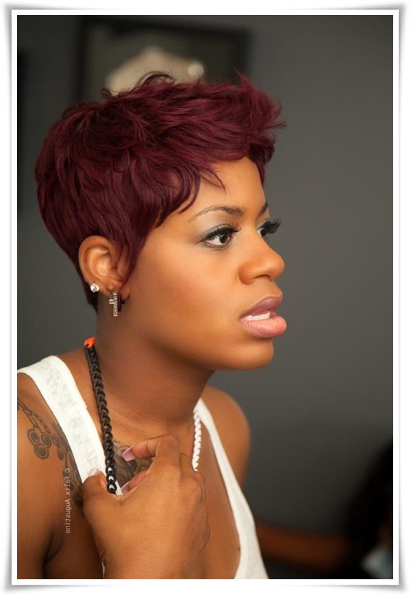 55 Winning Short Hairstyles For Black Women With Regard To Long Curly Salt And Pepper Pixie Hairstyles (View 11 of 25)
