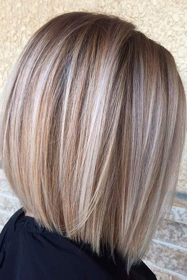 56 Stacked Bob Hairstyle For The Style Year 2019 – Style Easily Intended For Brown And Blonde Graduated Bob Hairstyles (View 24 of 25)