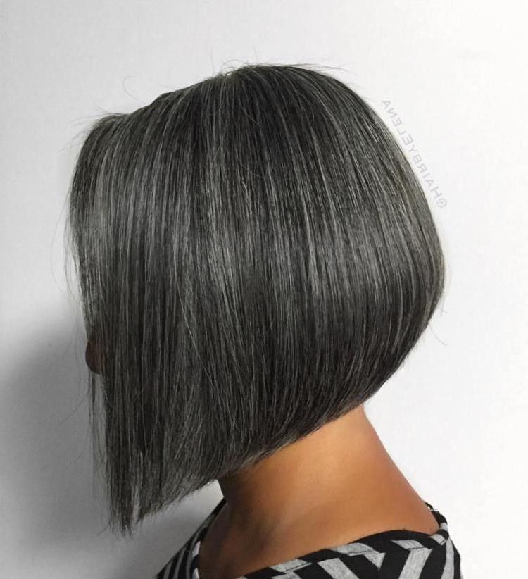 60 Gorgeous Gray Hair Styles   Short Hair   Pinterest   Hair, Hair Within Sleek Gray Bob Hairstyles (View 6 of 25)