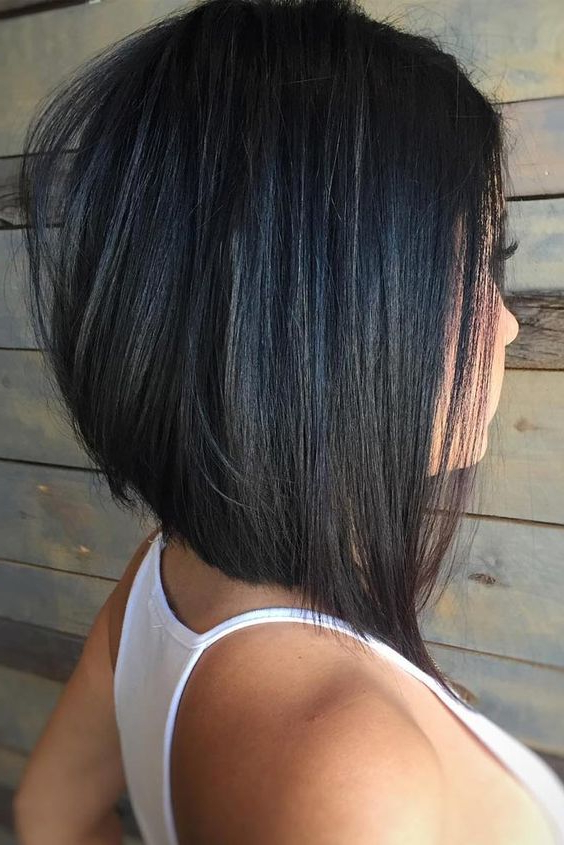 60 Hottest Bob Hairstyles For Everyone! (Short Bobs, Mobs, Lobs For Sleek Gray Bob Hairstyles (Gallery 21 of 25)
