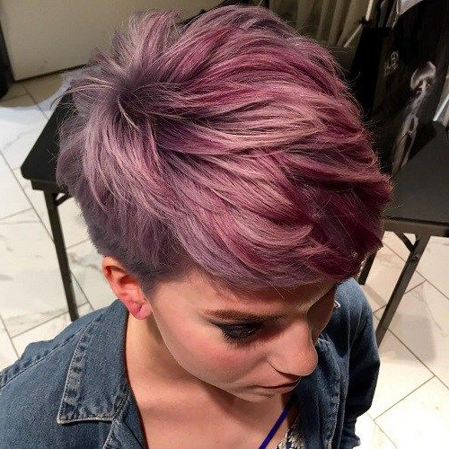 60 Overwhelming Ideas For Short Choppy Haircuts In 2018 | Short Hair With Regard To Black Choppy Pixie Hairstyles With Red Bangs (Gallery 3 of 25)