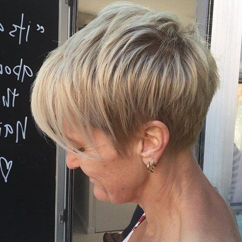 60 Overwhelming Ideas For Short Choppy Haircuts | Short Hair | Hair Throughout Long Ash Blonde Pixie Hairstyles For Fine Hair (View 16 of 25)