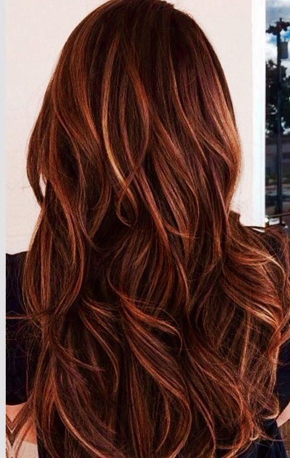 61 Dark Auburn Hair Color Hairstyles | Hair | Pinterest | Hair, Hair With Soft Auburn Look Hairstyles (Gallery 10 of 25)