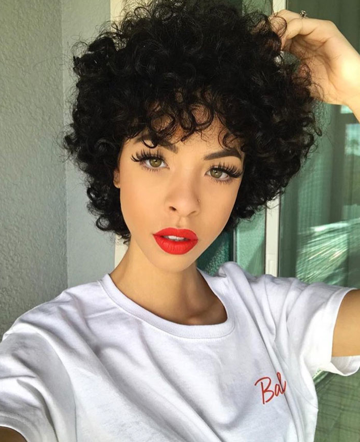 61 Short Curly Hairstyles To Slay The Day | Naturallycurly Intended For Short Curly Hairstyles (Gallery 14 of 25)