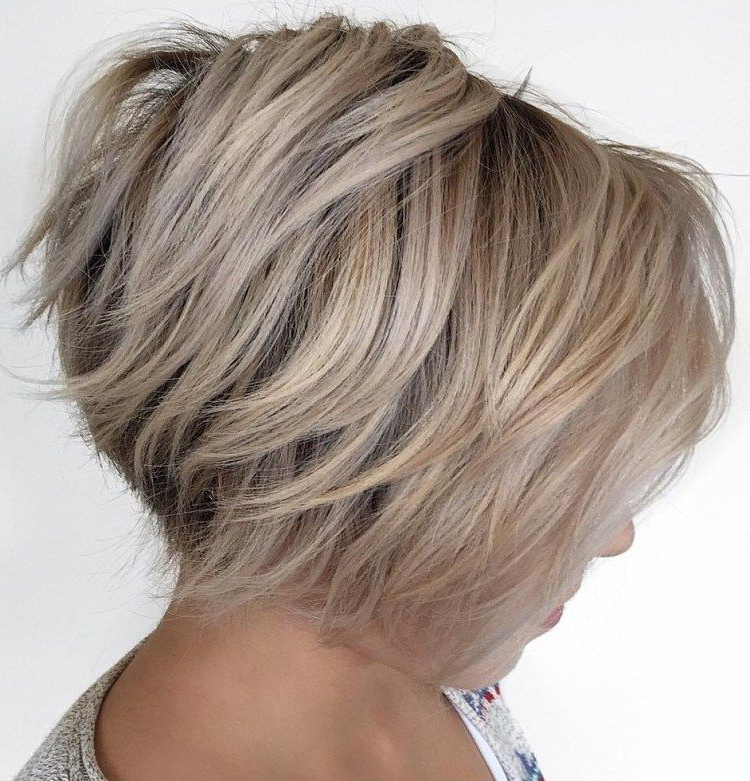 70 Cute And Easy To Style Short Layered Hairstyles | Bobs, Layered Within Short Voluminous Feathered Hairstyles (Gallery 17 of 25)
