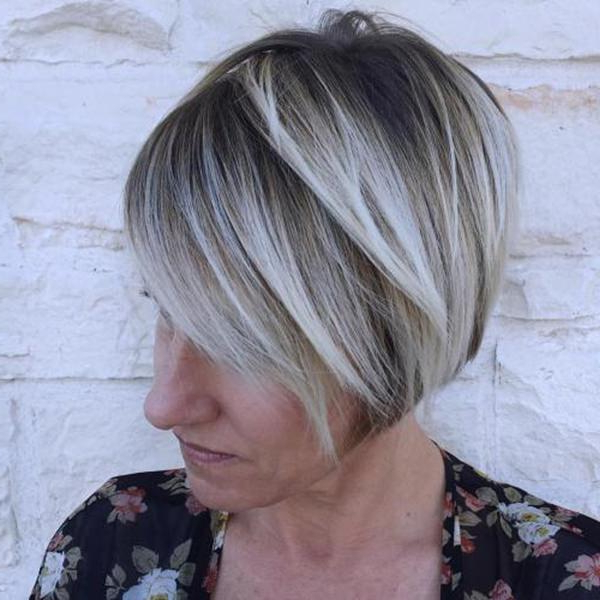 75 Amazing Hairstyles For Any Woman Over 40 – Style Easily Intended For Gray Bob Hairstyles With Delicate Layers (Gallery 16 of 25)