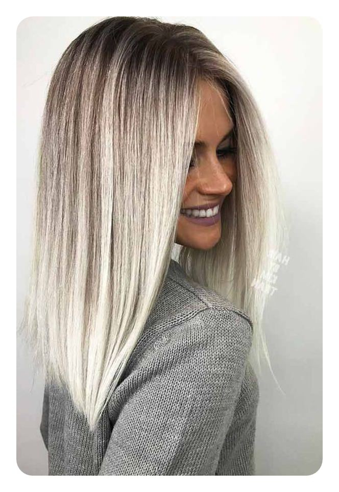 76 Long Bob Hairstyles That You'll Surely Love Inside Wispy Silver Bob Hairstyles (Gallery 22 of 25)