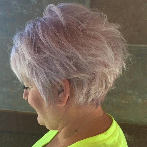 80 Classy And Simple Short Hairstyles For Women Over 50 – Foliver Blog Pertaining To Lavender Hairstyles For Women Over 50 (Gallery 4 of 25)