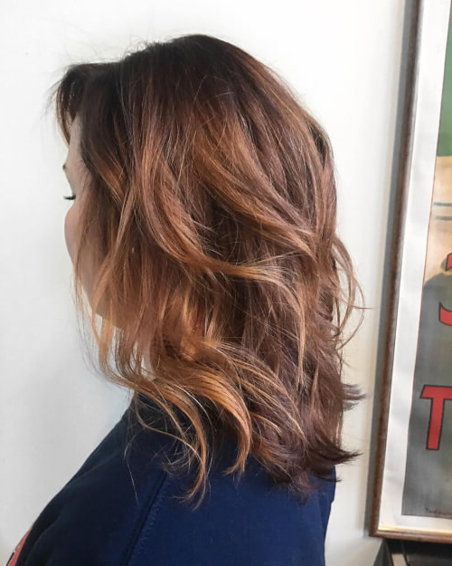 81 Auburn Hair Color Ideas In 2018 For Red Brown Hair Inside Soft Auburn Look Hairstyles (Gallery 2 of 25)
