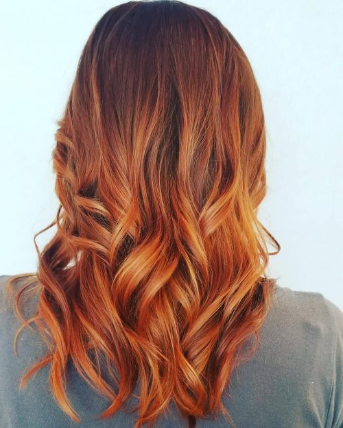 81 Auburn Hair Color Ideas In 2018 For Red Brown Hair Within Soft Auburn Look Hairstyles (View 5 of 25)