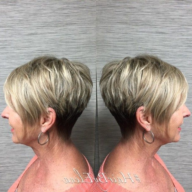 90 Classy And Simple Short Hairstyles For Women Over 50   Hairstyles Within Pixie Bob Hairstyles With Soft Blonde Highlights (View 7 of 25)
