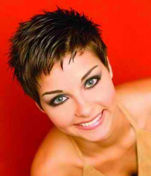 90 Latest Pixie Haircut Ideas 2019 That You Will Love – Gravetics With Spiky Gray Pixie Haircuts (View 21 of 25)