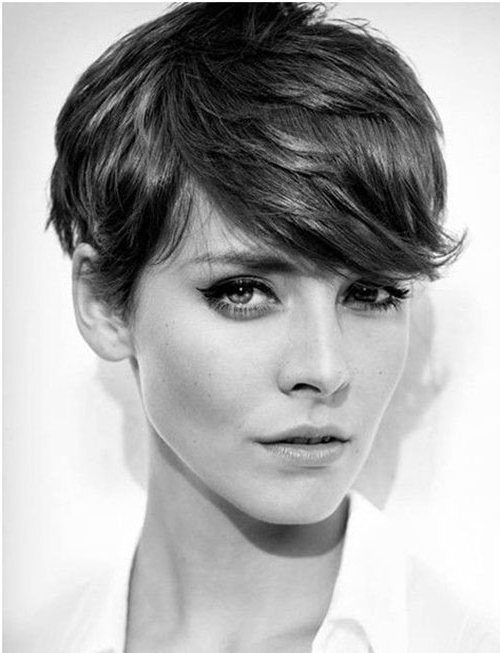 90 Latest Pixie Haircut Ideas 2019 That You Will Love – Gravetics Within Cropped Gray Pixie Hairstyles With Swoopy Bangs (View 20 of 25)