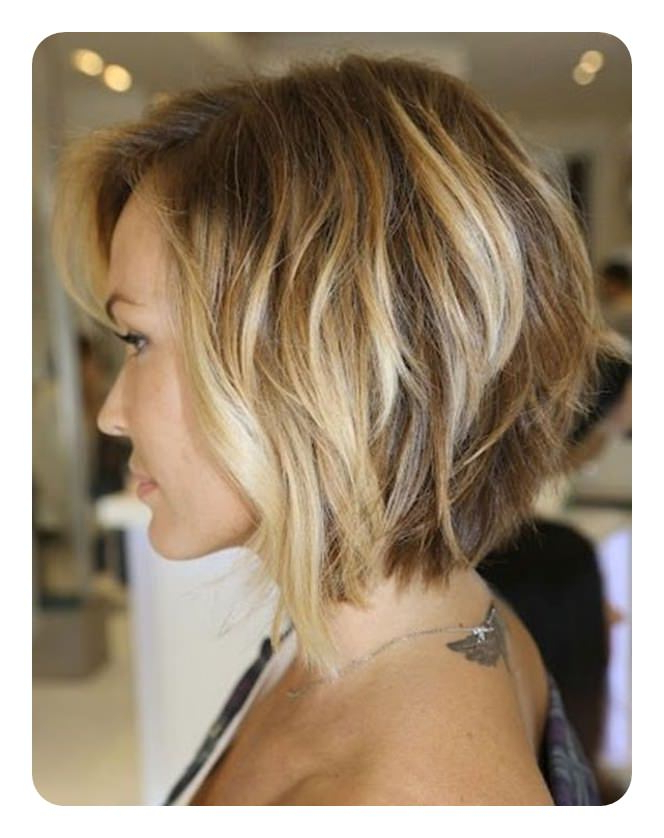 92 Layered Inverted Bob Hairstyles That You Should Try – Style Easily For Short Wavy Inverted Bob Hairstyles (View 25 of 25)