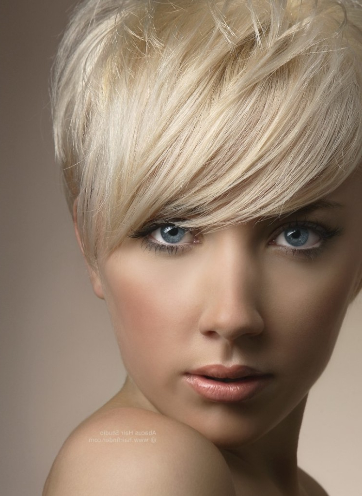 Angel Bob Blonde Haircut For Fine Hair Intended For Long Ash Blonde Pixie Hairstyles For Fine Hair (Gallery 17 of 25)