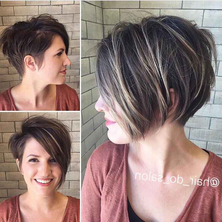 Asymmetrical Undercut Pixie | Pixies In 2018 | Pinterest | Hair In Asymmetrical Pixie Bob Hairstyles (Gallery 2 of 25)