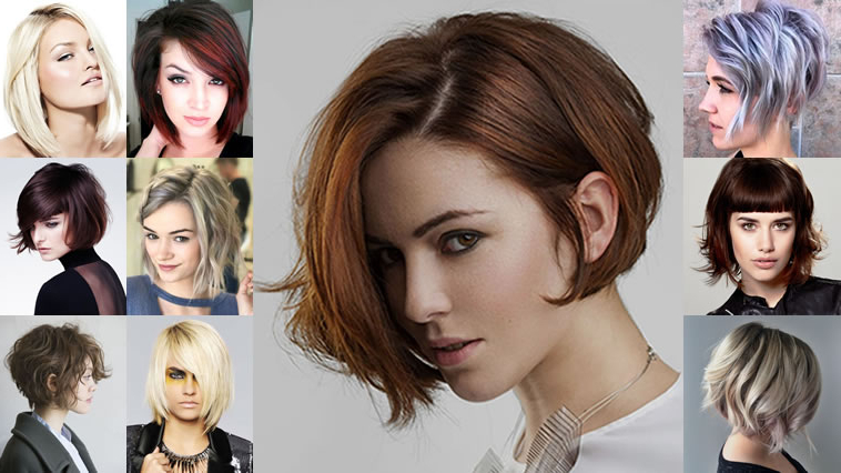 Balayage Asymmetrical Curly Bob Hairstyles – Short Bob Haircuts 2018 Regarding Short Asymmetrical Bob Hairstyles (View 13 of 25)