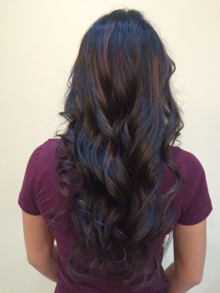 Balayage Hairstyles For Long Dark Hair Within Soft Auburn Look Hairstyles (View 9 of 25)