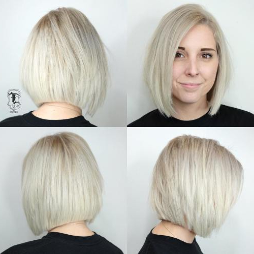 Beautiful And Convenient Medium Bob Hairstyles – Page 9 Of 40 For Layered Platinum Bob Hairstyles (View 24 of 25)