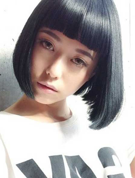 Beautiful Bob Hairstyles | Short Hairstyles 2018 – 2019 | Most Intended For Straight Bob Hairstyles With Bangs (View 23 of 25)
