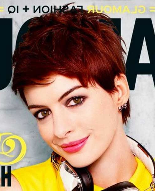 Beautiful Short Bob Hairstyles And Haircuts With Bangs | Hairstyles Within Black Choppy Pixie Hairstyles With Red Bangs (View 15 of 25)