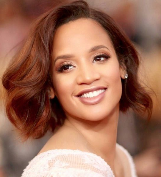 Best Hair Colors For Dark Skin Tones From Tan To Bronze Throughout Soft Auburn Look Hairstyles (View 18 of 25)