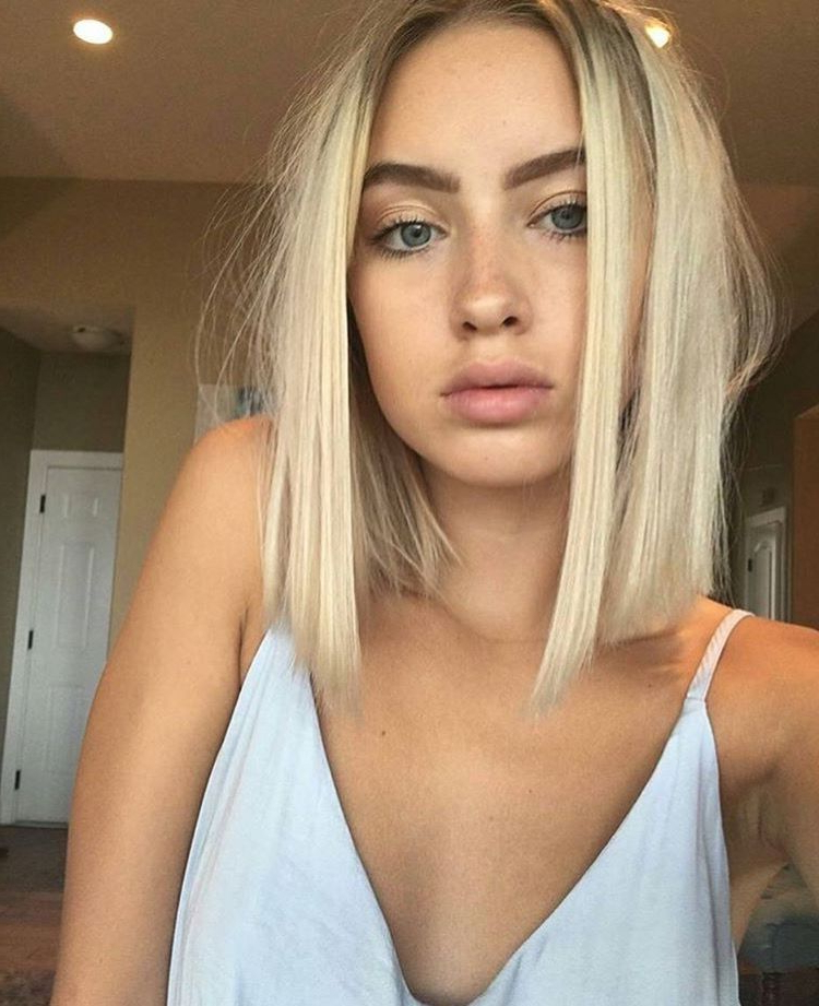 Best Nikes On In 2018 | B E A U T Y | Pinterest | Hair, Short Hair With Regard To Short Ruffled Hairstyles With Blonde Highlights (View 13 of 25)
