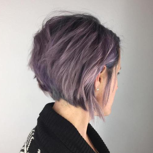 Best Style Ideas For Bob Haircuts In 2017 – Top Nail Design For Women With Gray Bob Hairstyles With Delicate Layers (View 7 of 25)