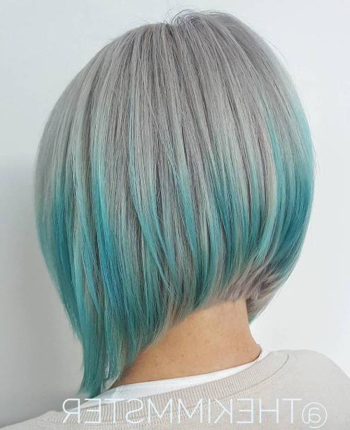Best Style Ideas For Bob Haircuts In 2017 – Top Nail Design For Women With Sleek Gray Bob Hairstyles (View 18 of 25)