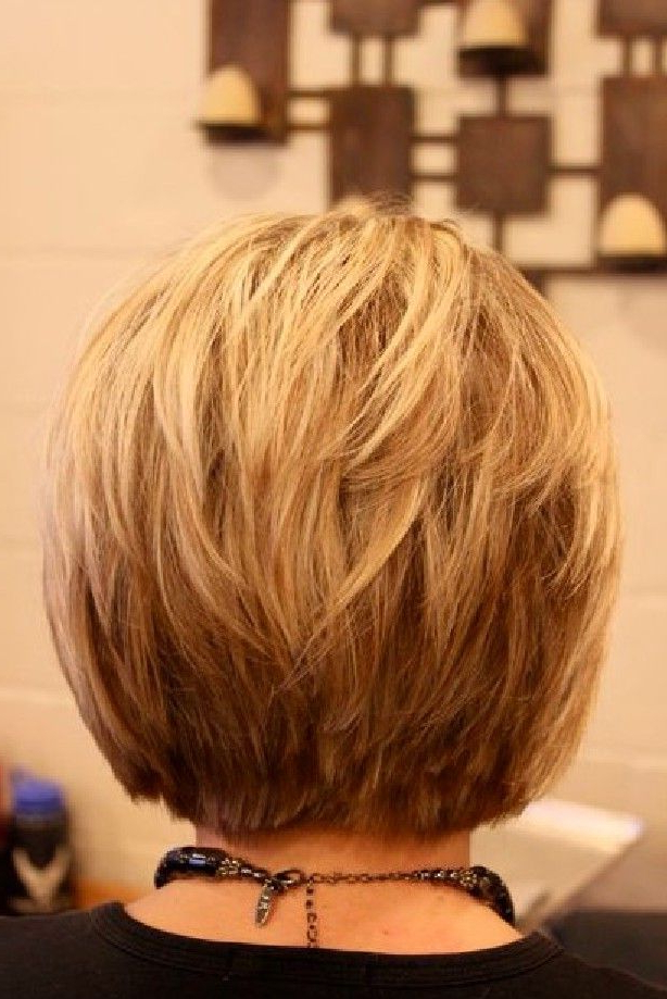 Bob Haircuts: 50 Hottest Bob Hairstyles For 2019 – Bob Hair With Regard To Honey Blonde Layered Bob Hairstyles With Short Back (View 5 of 25)