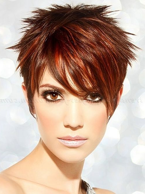 Bold And Beautiful Short Spiky Haircuts For Women | Hair & Beauty Regarding Two Tone Spiky Short Haircuts (View 7 of 25)