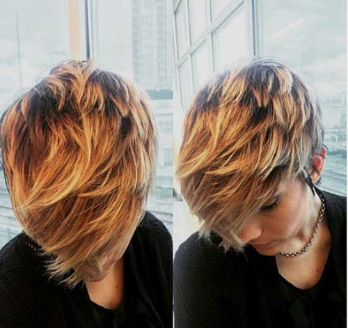 Chic Long Pixie Haircut Pictures | Short Hairstyles 2018 – 2019 With Messy Pixie Hairstyles With Chunky Highlights (View 18 of 25)