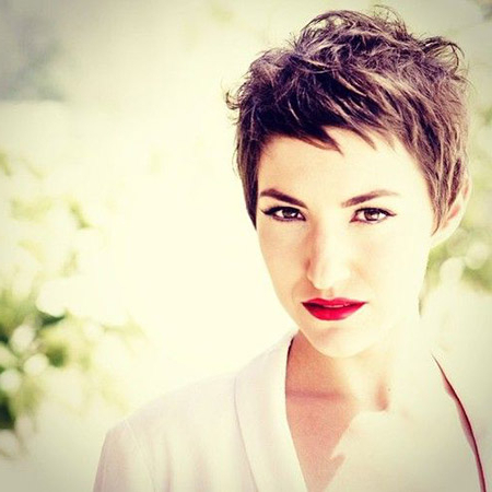 Chic Pixie Hairstyles   Short Hairstyles 2018 – 2019   Most Popular Within Messy Pixie Bob Hairstyles (View 23 of 25)