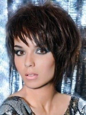 Choppy Layered Short Haircuts For Mature Women | Hair And Nails Pertaining To Black Choppy Pixie Hairstyles With Red Bangs (View 11 of 25)