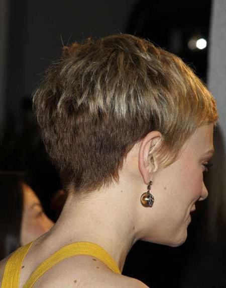 Clippered Pixie Haircut | Pixie Haircut Mini Ruffled Pixie With Regard To Ruffled Pixie Hairstyles (View 17 of 25)
