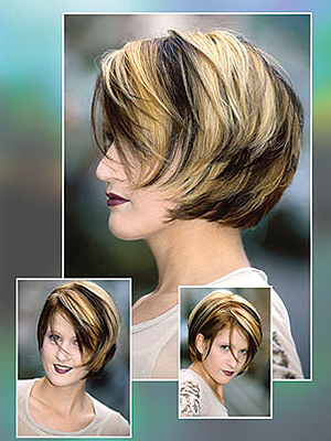 Different Bob Hair Styles Pertaining To Pixie Bob Hairstyles With Soft Blonde Highlights (Gallery 17 of 25)