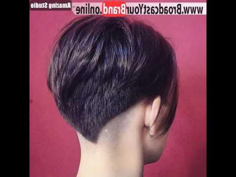 ? Angled Undercut Pixie Hairstyle ? Style – Youtube For Angled Undercut Hairstyles (View 11 of 25)